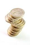 coins uk Royaltyfri Fotografi