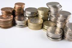 coins uk Arkivbilder