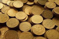 coins ukraine Fotografering för Bildbyråer