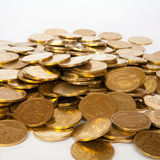 Coins of Ukrainian hryvnias Stock Images