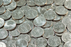 Coins - USA Quarters Stock Photo