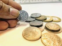 coins valuta Royaltyfri Foto