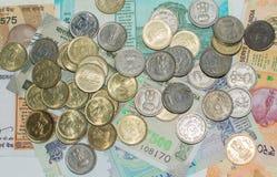 coins valutaindieranmärkningar fotografering för bildbyråer