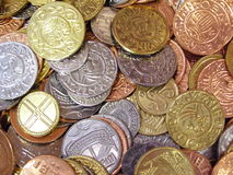 coins viking Royaltyfri Fotografi