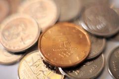 Coints - sumário Foto de Stock Royalty Free