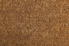 Coir Doormat Background Texture Stock Image