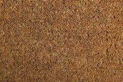 Coir Doormat Background Texture Stock Image