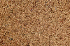 Coir matting. Close-up background of woven coconut coir matting Royalty Free Stock Image