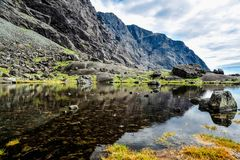 Coire Lagan Stock Photo