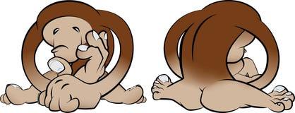 Coisa do macaco de Bigfoot Imagem de Stock Royalty Free