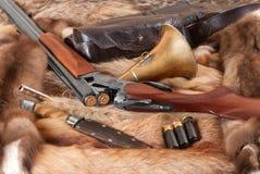 Coisas da caça Fotos de Stock