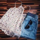 Coisas de Girly Imagens de Stock