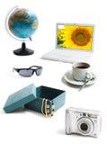 Coisas diferentes Fotografia de Stock Royalty Free