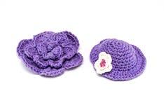Coisas do brinquedo feitas crochê Imagem de Stock
