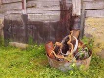Coisas oxidadas velhas Imagem de Stock Royalty Free
