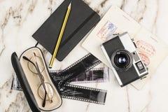 Coisas para o curso Foto de Stock Royalty Free