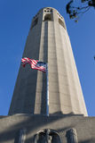 Coit Kontrollturm Stockbilder