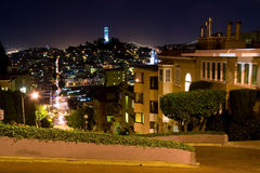 Lillian Coit Memorial Tower Royalty Free Stock Images