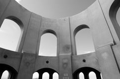 Coit Tower mural rotunda in San Francisc - CA Royalty Free Stock Photo