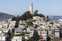 Coit Tower Park San Francisco Stock Image