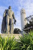 Coit Tower, San Francisco. Coit Tower, aka the Lillian Coit Memorial Tower on Telegraph Hill neighborhood of San Francisco, California, United States of America Royalty Free Stock Photo