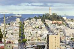Coit Tower, San Francisco Stock Photography