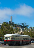 Coit Tower in San Francisco. California USA Stock Images