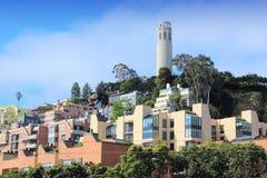 Coit Tower, San Francisco Royalty Free Stock Photo