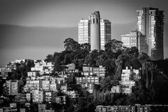 Coit Tower on Telegraph Hill Stock Photos