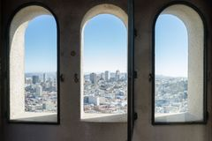 Coit Tower Views stock image