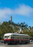 Coit-Turm in San Francisco Stockbilder