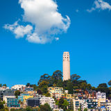 Coit-Turm San Francisco California Stockfotografie