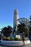 Coit-Turm in San Francisco, Kalifornien stockfoto