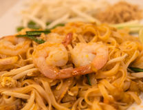Cojín tailandés, comida tailandesa de Fried Noodles Traditional Fotografía de archivo