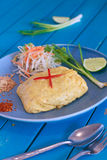 Cojín tailandés de la comida tailandés Imagen de archivo