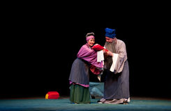 Coja el pabellón de la brisa de la ópera del šJiangxi del ¼ del childï imágenes de archivo libres de regalías