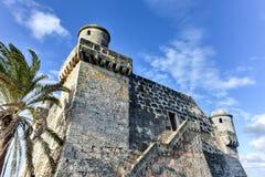 Cojimar堡垒-哈瓦那,古巴 免版税库存图片