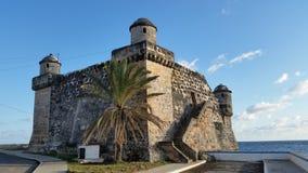 Cojimar oud fort Royalty-vrije Stock Foto's