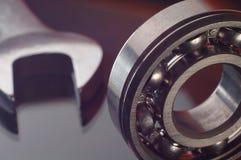 Cojinete y llave Fotografía de archivo libre de regalías
