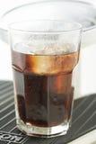 Coke avec de la glace Photos libres de droits