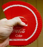 Coke Cards royalty free stock photos