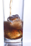 Coke glass 1 Royalty Free Stock Photos