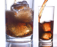 Coke glass 1 Stock Images