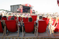 Coke Live Festival 2009 Images libres de droits
