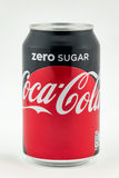 Coke Zero Can. CHESTER, UNITED KINGDOM - February 12, 2017: Coca-Cola Zero Can on white background stock photo