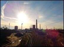 Cokesfabriek Stock Fotografie