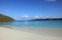 Coki Bay in St Thomas. U.S. Virgin Islands stock image