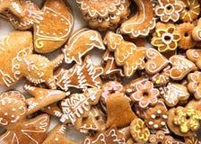 Cokies de Navidad Fotos de archivo libres de regalías