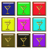 Coktail button Stock Photography