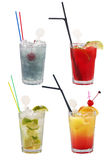 Coktails alcooliques images stock